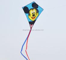 Cartoon animal shape kite flying mickey mouse kite children kite