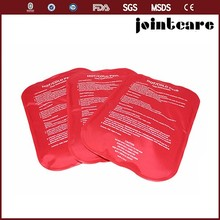 gel cold hot therapy pack , reusable gel cooling pack , gel hot cold compress nylon material