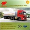Asphalt tank trailer for sale , 3 axle Bitumen transport tank semi trailer