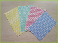 Shouguang Kaixuan chemical bond(foam impregnating) cleaning wipes/cleaning products for household