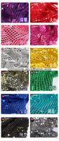 6mm Sequin cloth costume fabric for wedding background decoration and dancing dress cloth hanging sheet