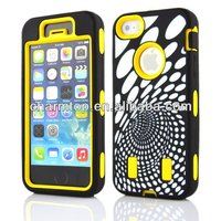 2014 New Arrival 3 in 1 Combo Case For iPhone 5 5S