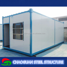 China manufacturer folded and expandable container house used for remote camp, labor camp, or the oil field worker camp