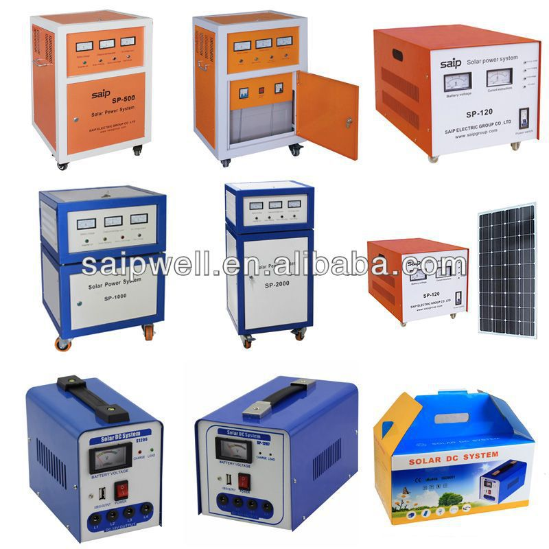2015 New Product Competition Price Portable Solar Generators With Fast Charge Funtion