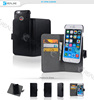 2 in 1 genuine leather elegant stitching detachable grip hardshell phone case for iphone 6 6s 6s plus case