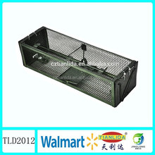Sprayed metal wire mesh live rodent trap cage ,rat size made China supplies TLD2012