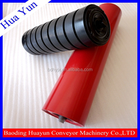 drive roller/embossing roller for heavy duty roller conveyor