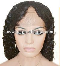 New arrival fashionable brazilian human hair u part wig