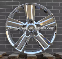 beautiful bright chrome alloy wheels and rims