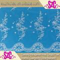 T0300- 1- b( 0.4) aceptar diseño de los clientes de áfrica bordado de tela de encaje para vestidos de novia