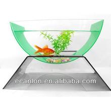 fancy acrylic plastic aquarium fish tank