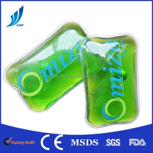 2015 New product click hot pack/reusable soft hand warmers for hot compress