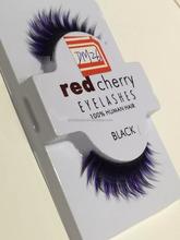2015 Qingdao Best selling wholesale 3D diamond synthetic eyelashes volume strip lashes red cherry eyelashes