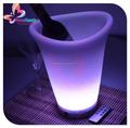 Led lighting up enfriador de placas / hielo RGB LED plato de fruta / cubo de hielo para bar
