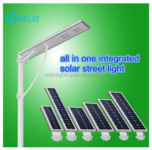 all In one motion sensor integrated solar street light/new model led solar street light easy installation
