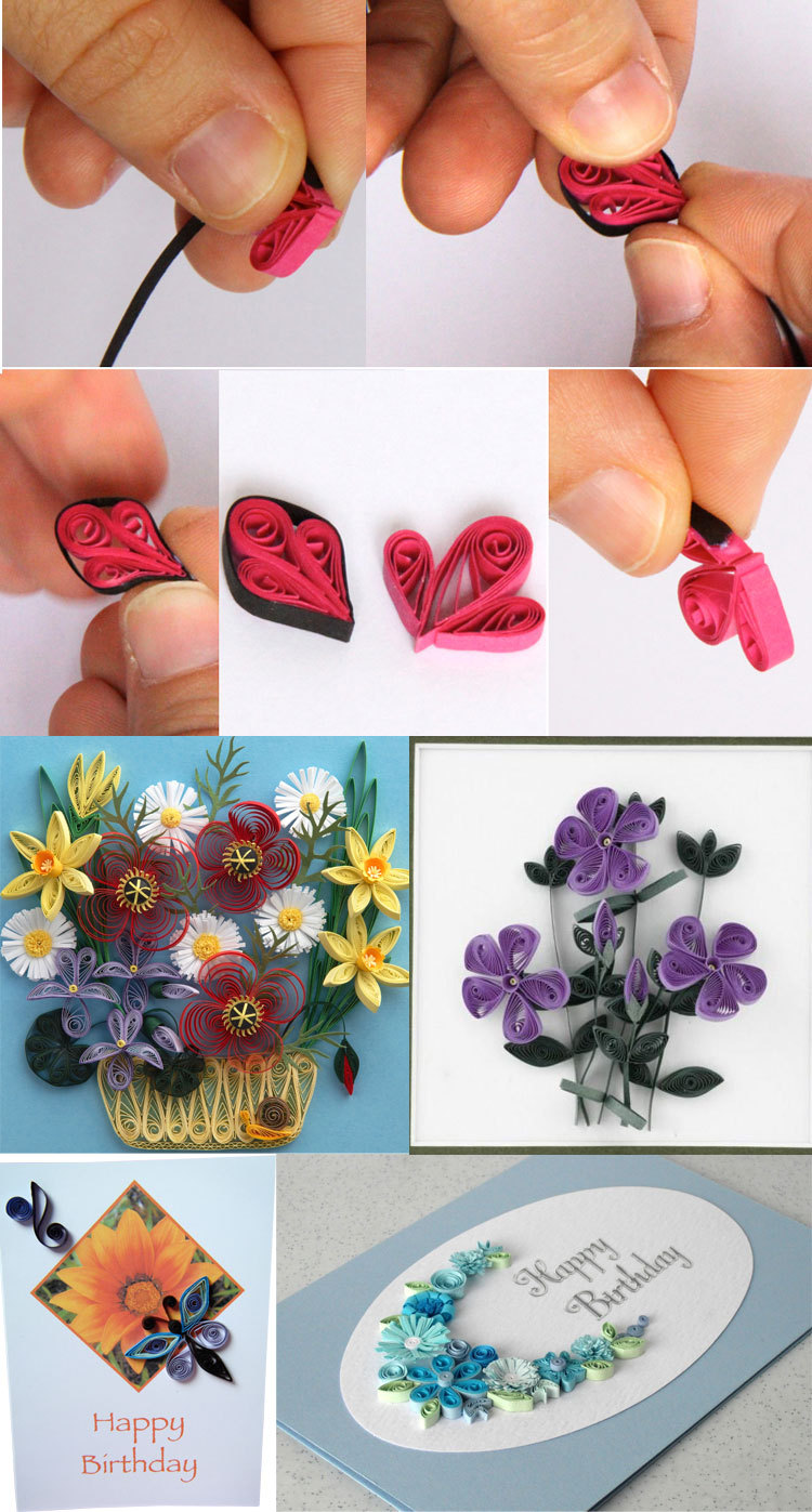 Quilling CraftsPaper Strips QuillingFluorescent Paper