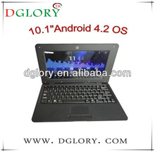 """DG-NB1003 10.2"""" laptop/netbook/notebook CPU VIA8880 1024*600 512MB/4GB Android 4.2"""
