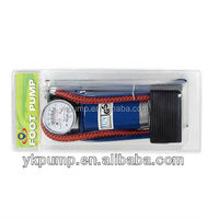 New 2014 foot pump inflator Handy Foot Air Pump for bicycle and tire