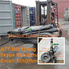 Marine air bag for ship launching used in Batam shipyard