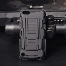 2015 New Arrival!IN STOCK,Future Armor Impact Skin Holster Protector Case cover For Apple ipod touch 5 Cell Phone Case