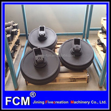 SK210-8 excavator crawler parts,FCM undercarriage parts of machinery,front idler assy