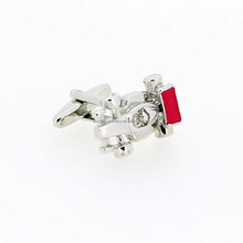Factory Price men's cufflinks racing car cufflinks