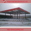 Low cost of gas station canopy design