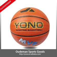 Customized PU Match Basketball Games Design YN-812 Wholesale Brand Ball for Cheap Price School Basketball