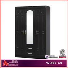 W983-48 Modern, 2015 Latest 3 door wardrobe/wooden clothes cabinet/bedroom Furniture