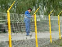 3d welded fence panel