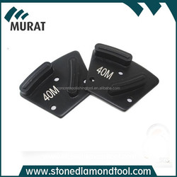 Metal Segment Embed Diamond Concrete Trapezoid Grinding Pad