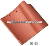 High Quality Chinese Clay Spanish Roof Tiles for sale