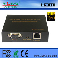 2015 most popular hdmi extender by single cat5e/6 lan cable