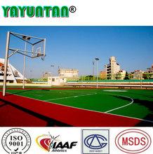 Polyurethane basketball sports court flooring