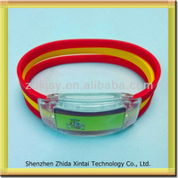 Shenzhen Wholesale new product high quality led flashing bracelet