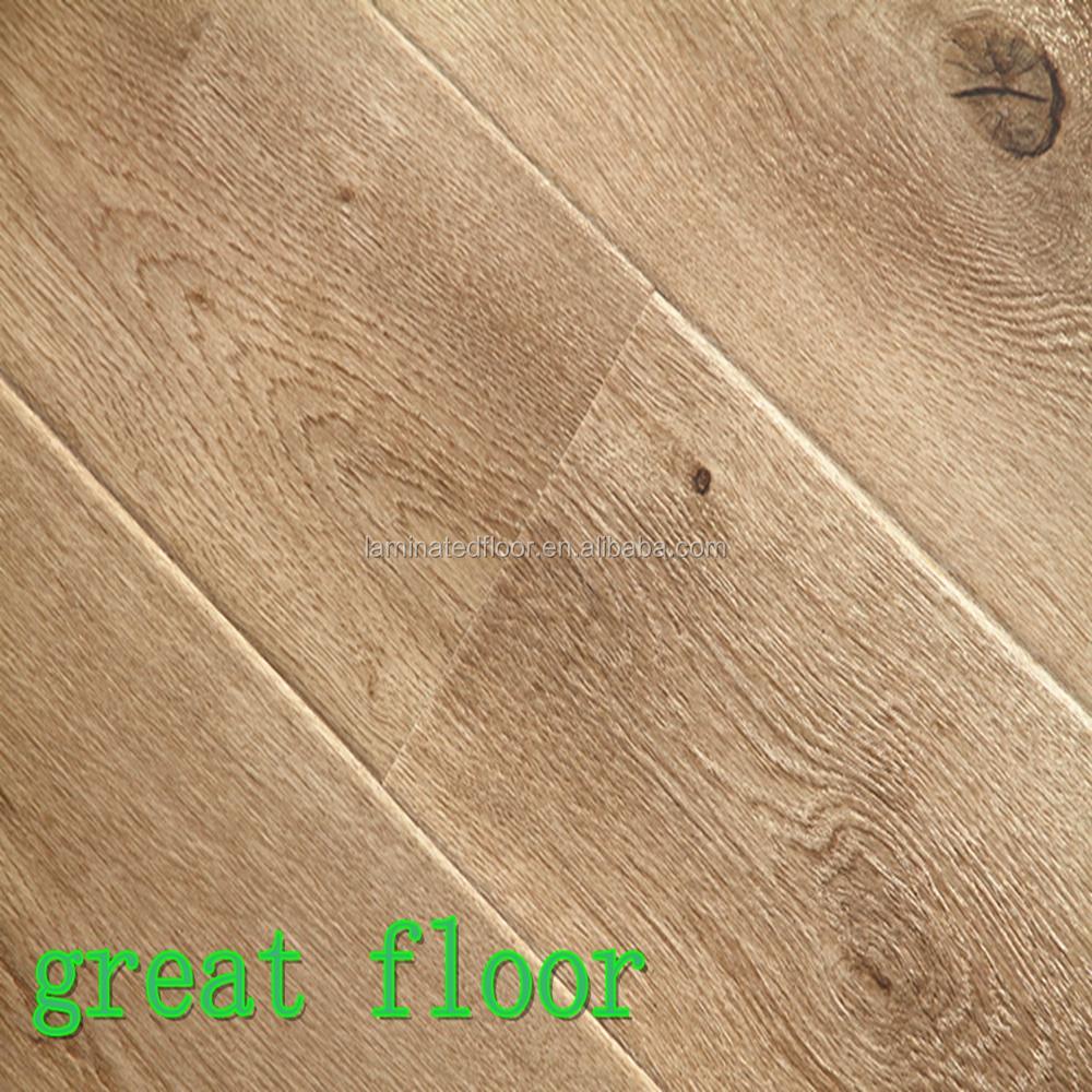 High quality wood look european white oak laminate for High quality laminate flooring