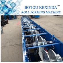 Cnc linha fabricante de água da chuva tubos sistema / Gutter dá forma à máquina