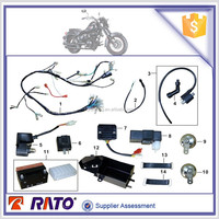 TC200 motorcycle electric parts, wire harness, motorcycle brake switch for sale