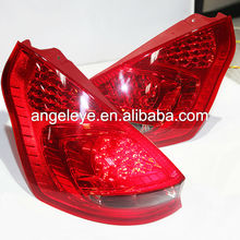 FORD Hatchback Fiesta LED Strip Tail Light 2008-2013 year Red Black Color DB