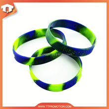 Mass supply top quality colorful recycled silicone wristband