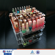 trade assurance supplier high quality Acrylic clear cube the makeup box