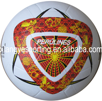 2015 smooth size 5 rubber football/futbol