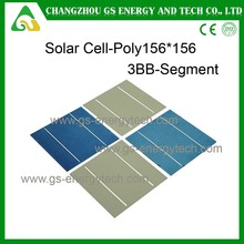 Good Price CE ISO TUV polycrystalline silicon solar cell for 50w panels with solar cell scrap