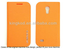 Long quality guarantee flip hard carbon fiber case for samsung galaxy s4 mini i9190