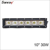 Wholesale in alibaba 24v dc straight for 4x4 accessories 30w led light bar for cars