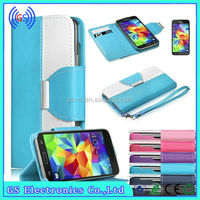for iphone case with card slots ,for iphone 5S fancy designer free sample wallet case
