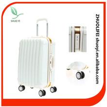 2015 Beautiful wedding luggage sets aluminum travel luggage case