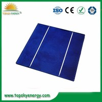 """17.8%-18.2% efficiency 4.33w-4.43w 6"""" inch 2BB A grade wholesale prices poly Solar Cell made in Taiwan"""