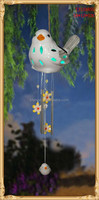 ceramic decorative Wind bell with led light