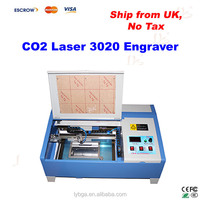 LY 3020/2030 CO2 Laser Engraving Machine, with digital function and bigger honeycomb, Ship from UK, NO TAX!
